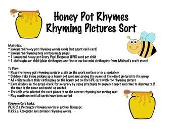 Honey Pot Rhymes