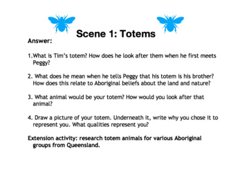 Honey Spot Play script Lesson: Stereotypes, Totems, Vocabulary.