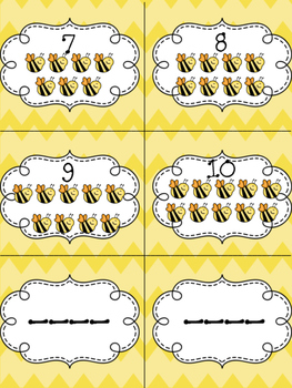 Honeybee Addition and Subtraction to 10 FREEBIE