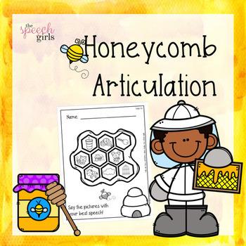 Honeybee Articulation | No Prep & Low Ink