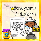 Honeybee Articulation | No Prep & Low Ink
