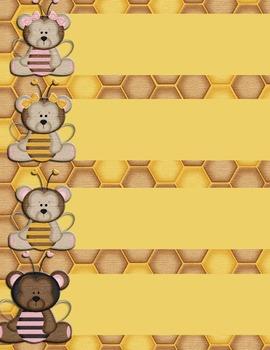 Honeybee Labels 2