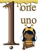 Honeybee Numbers 1-10 part 1