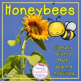 Honeybees Literacy Science Math and Art Activities