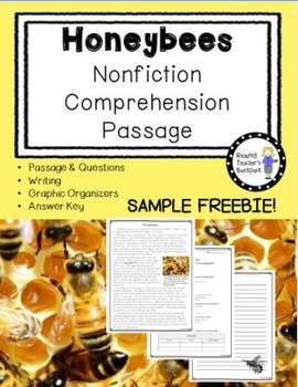 Honeybees Nonfiction Passage-FREEBIE