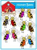 Honeybees *Penny & Ellie's Doghouse Clipart*