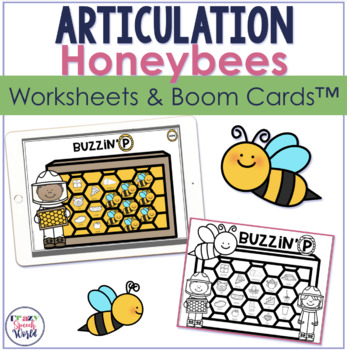 Honeycomb Articulation No Prep Speech Therapy