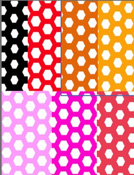 Honeycomb Backgrounds--20