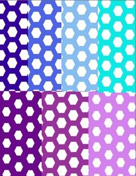 Honeycomb Backgrounds--20