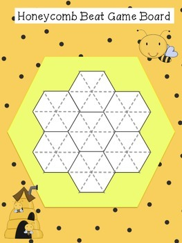 Honeycomb Beat Pattern Block Game for K-2