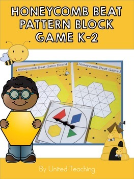 Honeycomb Beat Pattern Block Game for K-2