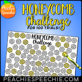 Honeycomb Challenge for 100 Repetitions by Peachie Speechie