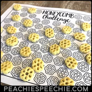 100 Trials Articulation Honeycomb Challenge