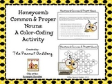 Honeycomb Common & Proper Nouns: A Color-Coding Activity