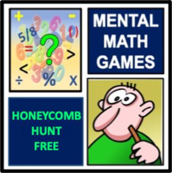 Honeycomb Hunt - a mental math game