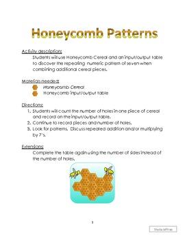 Honeycomb Input/Output Table