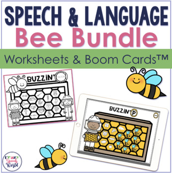Honeycomb  No Prep Speech Therapy Bundle