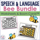 Honeybee  No Prep Speech Therapy Bundle