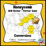 Honeycomb Partner Game- Customary Length Conversions - 4.M