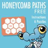 Honeycomb Path Puzzles (Free Version)