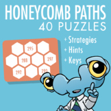 Honeycomb Path Puzzles (Full Version)