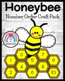 Honeycomb and Bee Craft: Numbers 1-10 (Spring, Summer, Insects, Bugs)