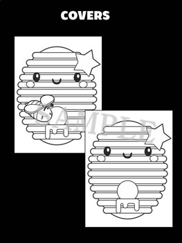 Honeycomb and Bee - MOONJU MAKERS Printable