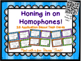 Honing in on Homophones! Application Based Task Cards with QR Codes