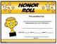 Honor Roll Certificate - Editable