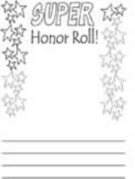 Honor Roll Portfolio Page