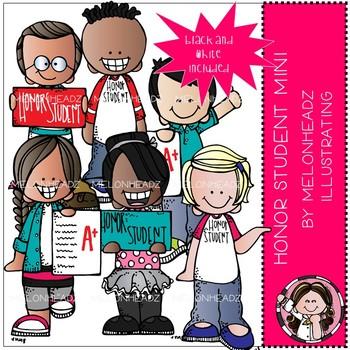 Honor Student clip art - Mini - Melonheadz Clipart