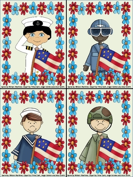 Honor our Military Heroes. Reading comprehension based on descriptions.