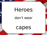 Honoring Heroes Project- Ready to Edit