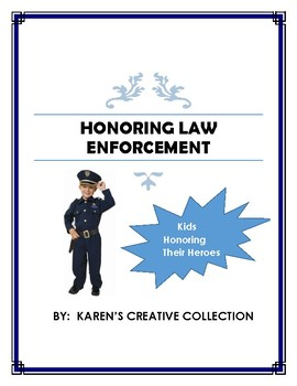 Honoring Law Enforcement Poem