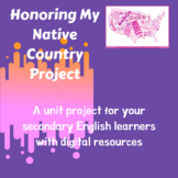 Honoring My Native Country Project