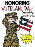 Honoring Veterans Day (Dog Tag Craft and Writing Activity)
