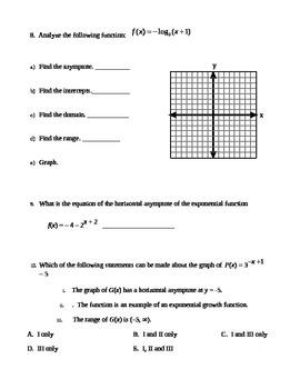 Honors Algebra 2 Spring Final Exam