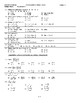 2017 Honors Algebra Final Exam pdf
