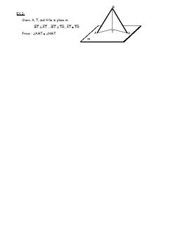 Honors Geometry Chapter 6 Lines and Planes in Space