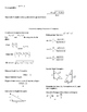Honors Geometry Semester 1 and 2 Formula Sheets