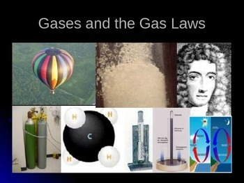Honors Level PowerPoint Presentation on Gases and the Gas Laws