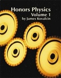 Honors Physics-Vol 1 of 2-Teacher Manual, Lesson Plans, Lab Manual, PPT's