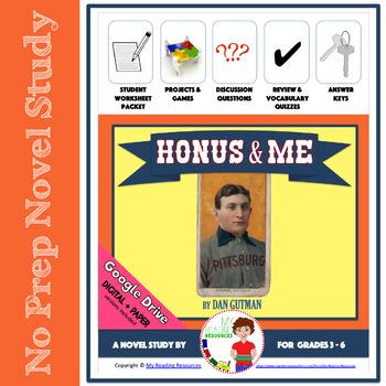 Honus and Me by Dan Gutman Novel Study
