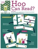 Reading Intervention Fluency and Comprehension Flash Cards
