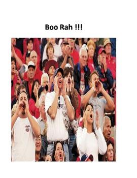 Hoo Rah, Boo Rah Assembly Behaviour