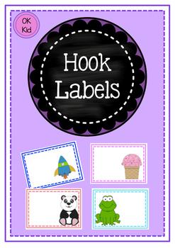 Hook/Desk Name Labels