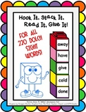 Hook It, Stack It, Read It, Glue It!  BUNDLE (All 220 Dolch Sight Words)