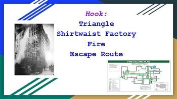 Hook Lesson: Triangle Shirtwaist Factory Fire