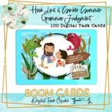Hook Line and Sinker Summer Grammar Judgement BOOM Cards – Speech Therapy