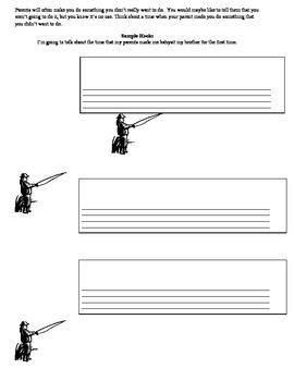 Hook Narrative Worksheet